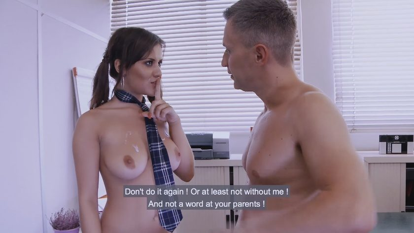 Porno academie college girl ass banged in mmf fuck fest 6