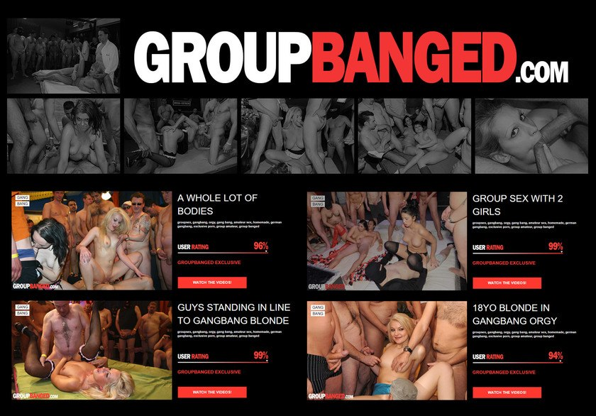 Group Banged Discount